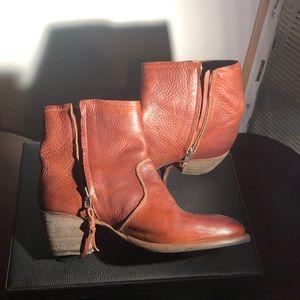 Brown Blackstone booties